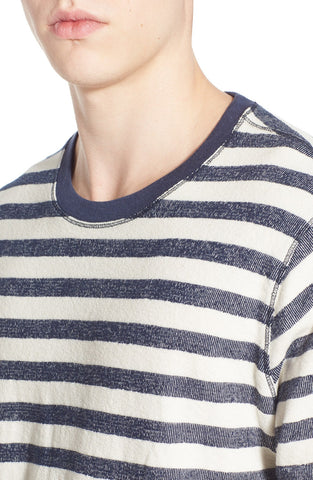 'The Andrew' Stripe Crewneck Sweater