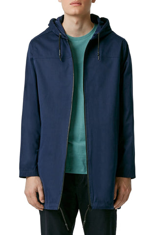 Topman - Lightweight Hooded Parka - shop on Greybox