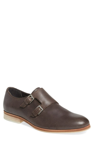 'Faber' Double Monk Strap Shoe (Men)
