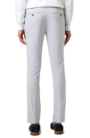 Ultra Skinny Fit Light Grey Suit Trousers