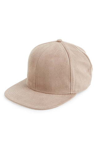 Topman - Faux Suede Snapback Cap - shop on Greybox