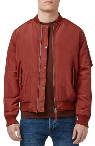 Topman - Insulated MA-1 Bomber Jacket - shop on Greybox