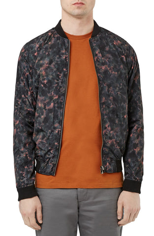 Topman - Reversible Camo Bomber Jacket - shop on Greybox