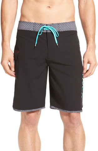 RVCA - 'Eastern' Scalloped Hem Board Shorts - shop on Greybox