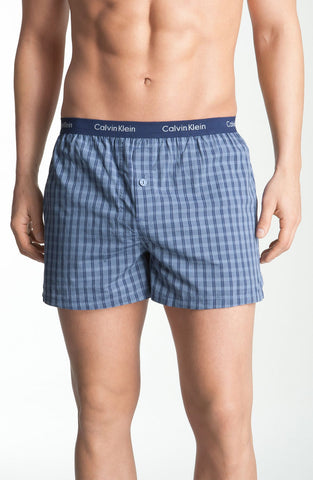 Calvin Klein - 'Matrix' Slim Fit Woven Boxers (Online Only) - shop on Greybox