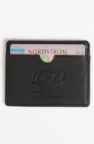 Herschel Supply Co. - 'Charlie' Leather Card Case - shop on Greybox