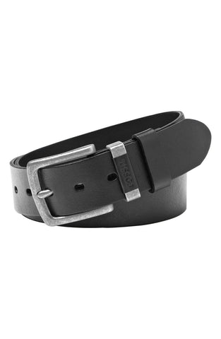 Fossil - 'Jay' Leather Belt - shop on Greybox