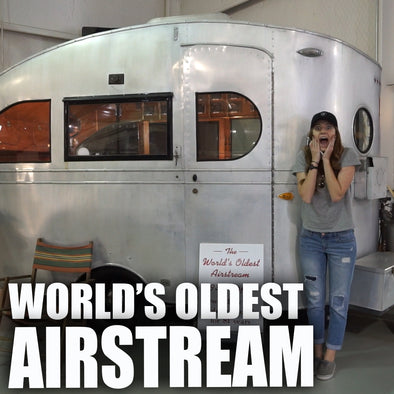 FINDING THE WORLD'S OLDEST AIRSTREAM