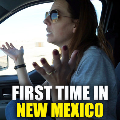 FIRST TIME IN NEW MEXICO!