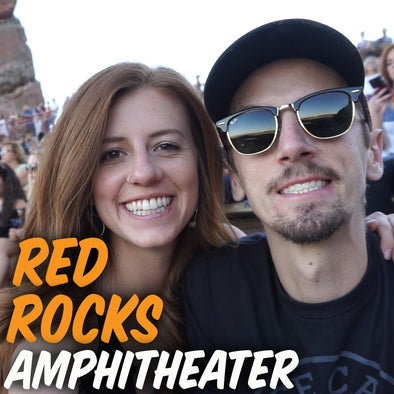 GREAT CONCERT AT RED ROCK AMPHITHEATER