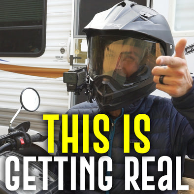 FIRST MOTOVLOG & PACKING FOR TRANS AMERICAN TRAIL