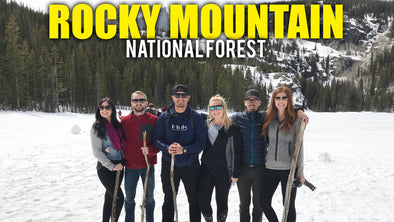 ROCKY MOUNTAIN NATIONAL FOREST & FINDING ELK!