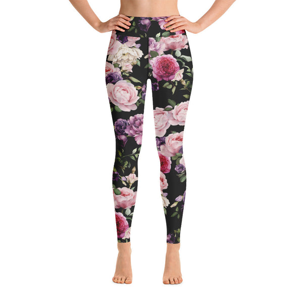 Roses - Yoga Leggings