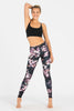 Cherry Blossom High Waist Printed Yoga Legging - Full Length