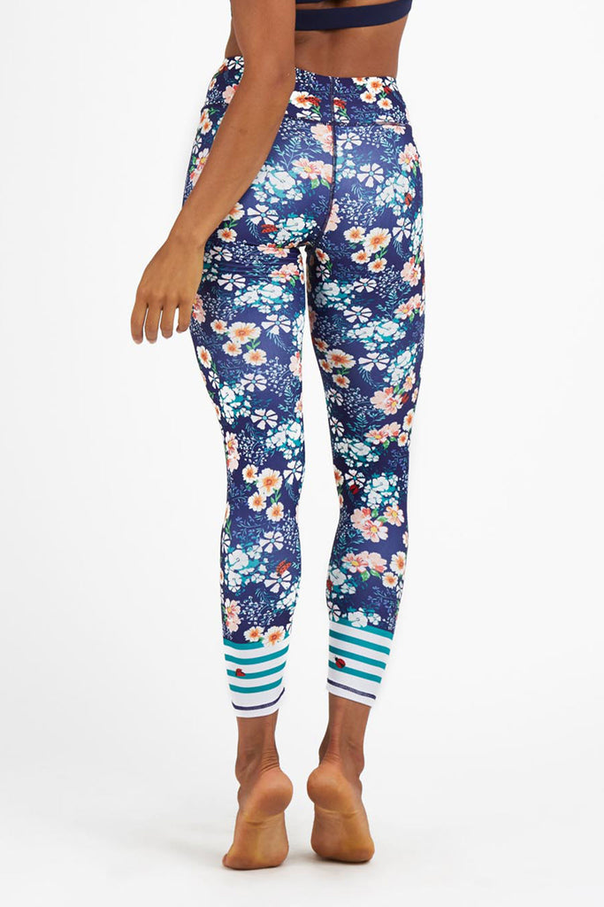 Lady Bug High Waist Printed legging - 7/8