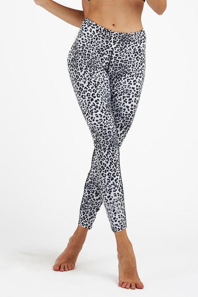 Jungle Cat High Waist Printed Activewear and Yoga Legging - Full Length