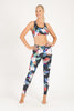 Tahiti High Waist Printed Legging - Full Length