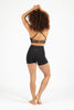 Beyond Basic Plain Supplex Shorts - Black
