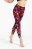 Electric Avenue High Waist Printed Legging - 7/8