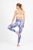Monet's Garden High Waist Printed Legging - 7/8