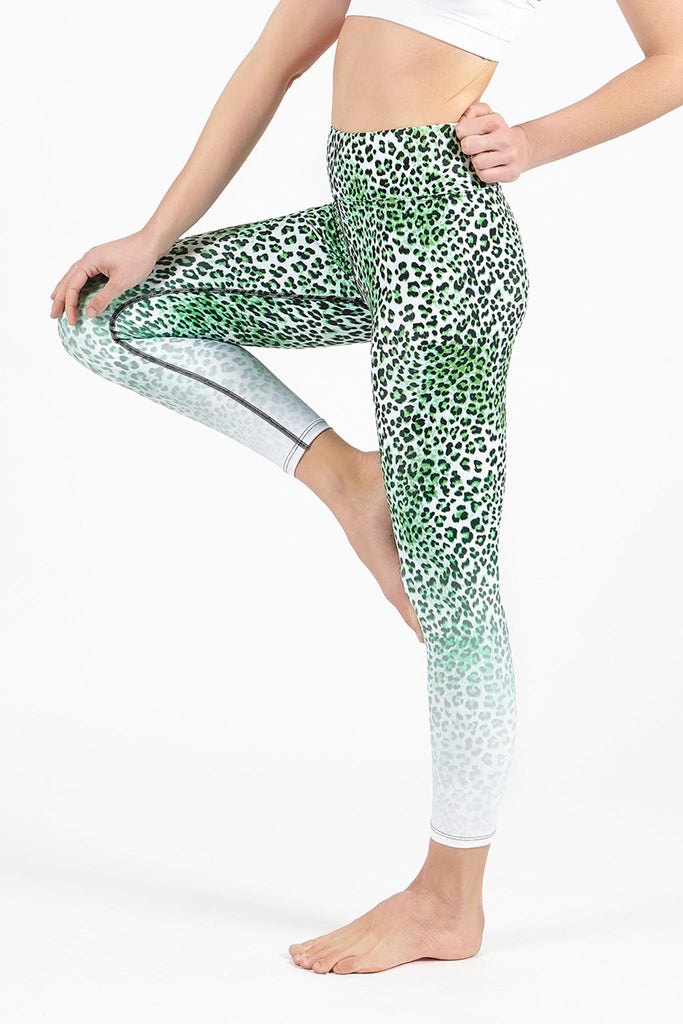 Otherworldly High Waist Printed Legging - 7/8