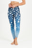 Blossom High Waist Printed Legging - 7/8