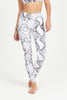 Serpent High Waist Printed Yoga Legging - Full Length