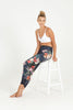 Island Bliss High Waist Printed Legging - 7/8