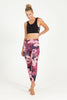 New Romantic High Waist Printed Legging - 7/8