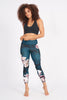 Moonflower High Waist Printed Legging - 7/8