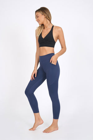 Wonder Luxe Bondi Pocket Legging 7/8 - Indigo