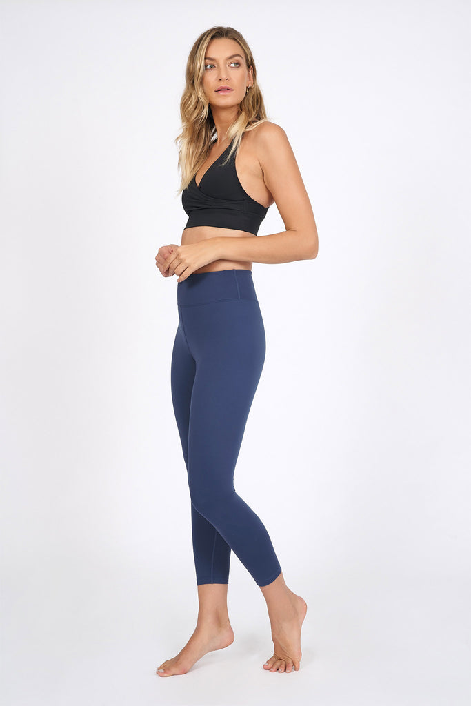 Wonder Luxe Plain Legging 7/8 - Indigo