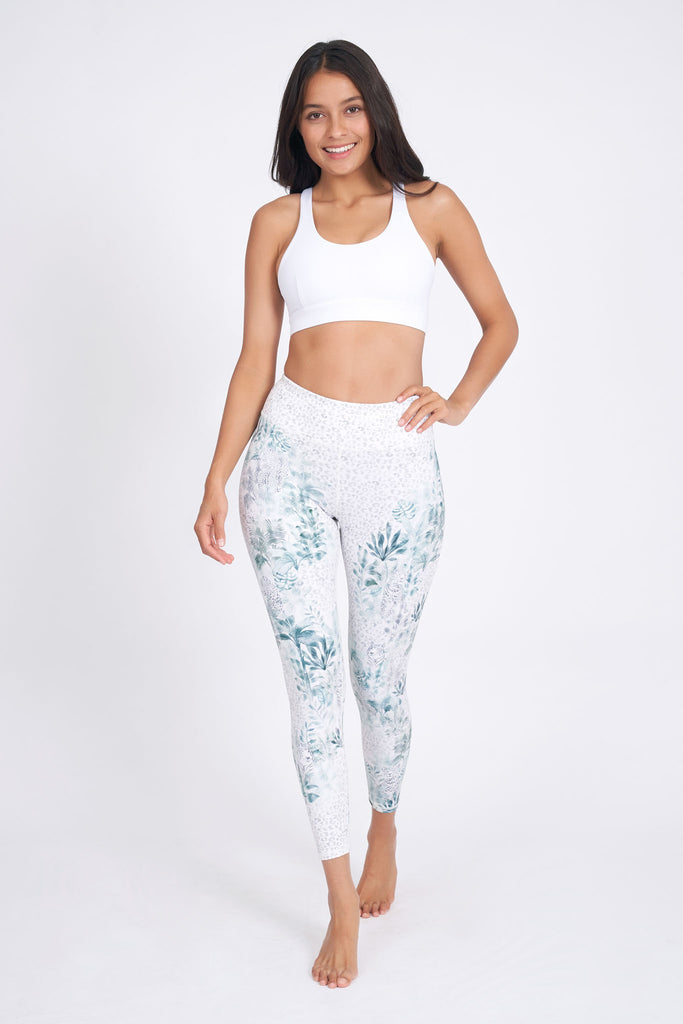 Sarabi Recycled High Waist Printed Legging - 7/8