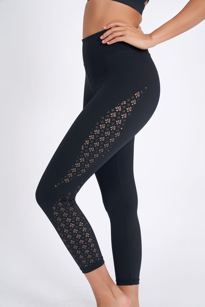 Prophecy Laser Legging 7/8 - Black