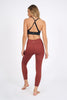Prophecy Laser Legging 7/8 - Rust