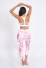 Deja Vu Recycled High Waist Printed Legging - 7/8