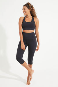Balance Crop Legging - Black