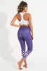 Ritmo Recycled High Waist Printed Legging - 7/8