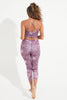 Amara Recycled High Waist Printed Legging - 7/8