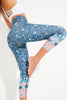 Sea Star Recycled High Waist Printed Legging - 7/8