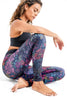 Equinox Recycled High Waist Printed Legging - Full length