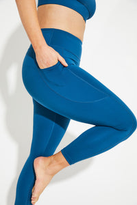Motion 7/8 Legging - Emerald