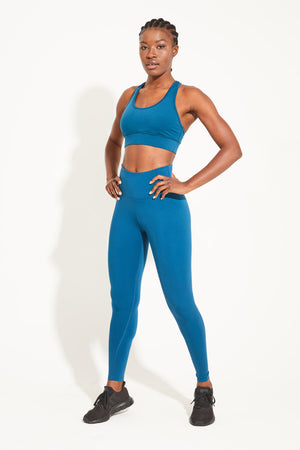 Balance Full Length Legging - Emerald