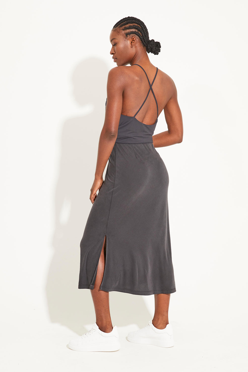 Oracle Midi Skirt - Black