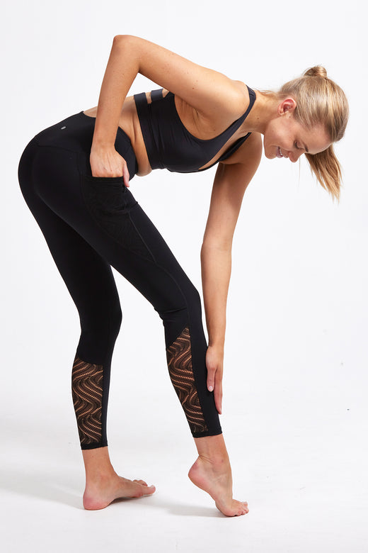 Romance Full Length Legging - Black