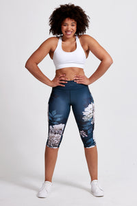Motion Crop  Legging - Tulla