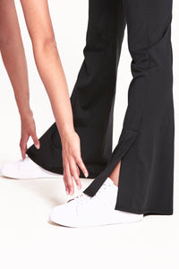 Flare Full Length Legging - Black