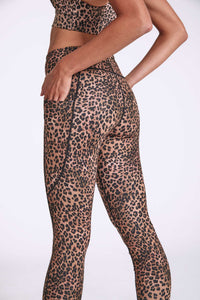 Nocturnal Bondi Pocket Recycled Printed Legging- 7/8