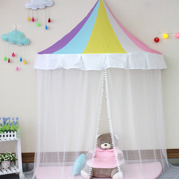 Princess Bed Canopy Reading Corner for Kids Indoor ... : girl play tent - memphite.com