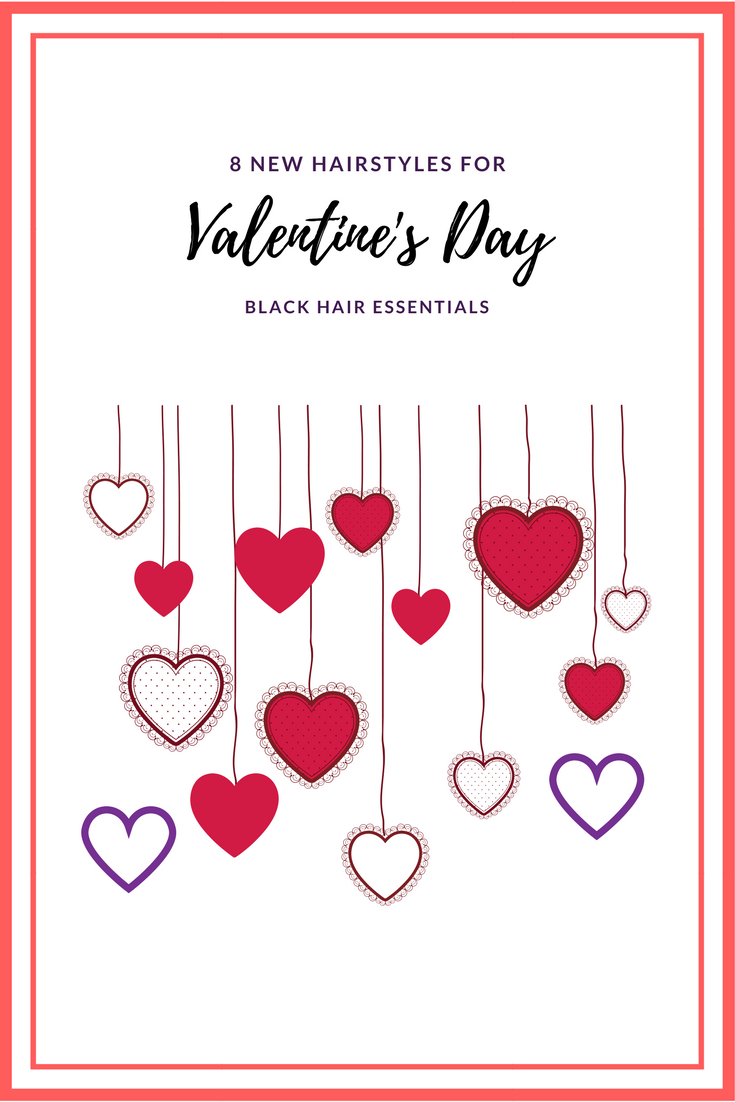 Hairstyles for Valentine's Day and special occasions